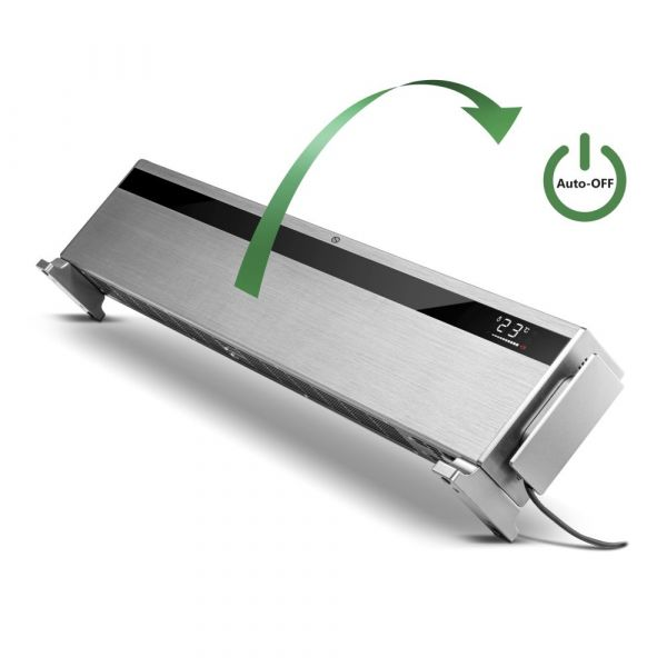Design Convector Heater Side view